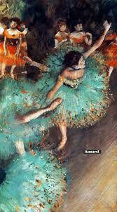 Bailarina verde by Degas