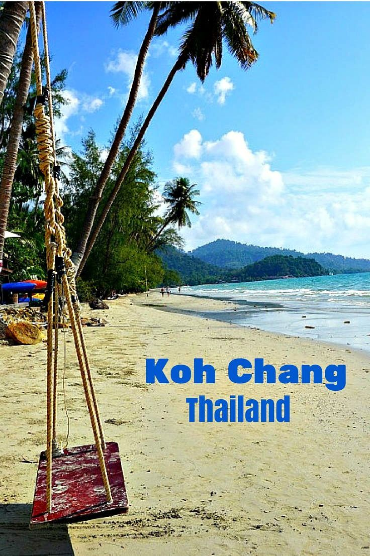 Koh Chang Thailand - This beautiful Thai Island with it's secluded white sandy beaches, warm blue water and tropic rain forest won't be a best kept secret forever! Here are the best places to stay and thing to do on Koh Chang on any budget. Get here before the crowds take over!