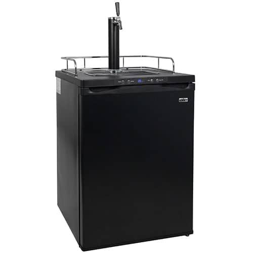 Summit SBC635M 24 Inch Wide 5.7 Cu. Ft. Full Size Beer Kegerator, Black