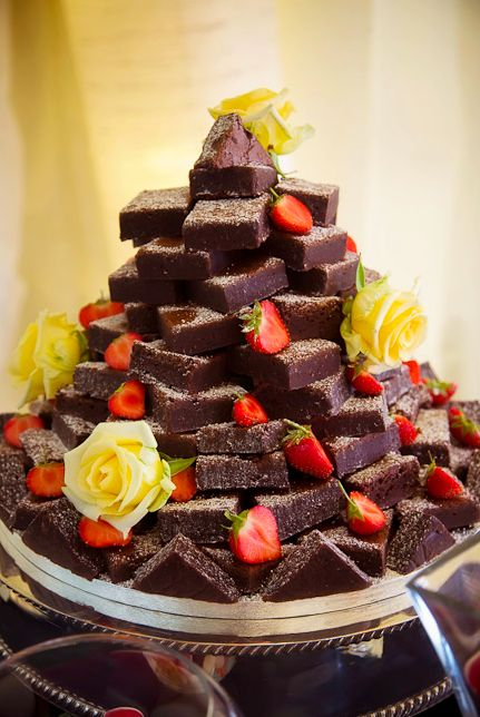 wedding brownies - CosmopolitanUK