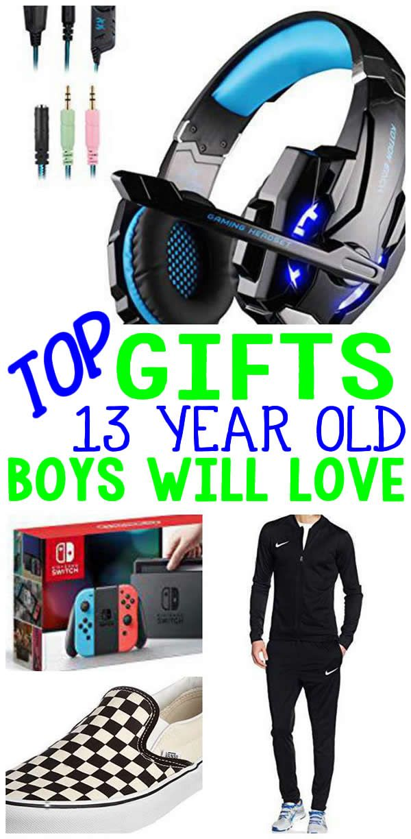 BEST Gifts 13 Year Old Boys Top Gift Ideas That Yr Will Love Find Presents Suggestions For A 13th BirthdayChristmas Or Just