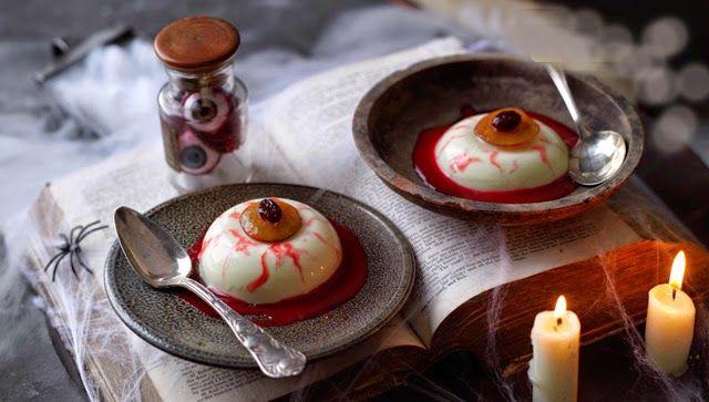 Descubriendo Pequemundos: Cocina infantil. ojos sanguinolentos. Halloween