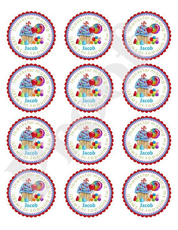 Candy Stickers Oh zoete Candy Stickers primaire kleuren