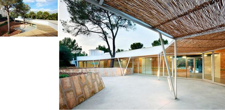 Obra: Centro de día y actividades comunitarias. Autor: Flexoarquitectura. Web: http://www.flexoarquitectura.com/