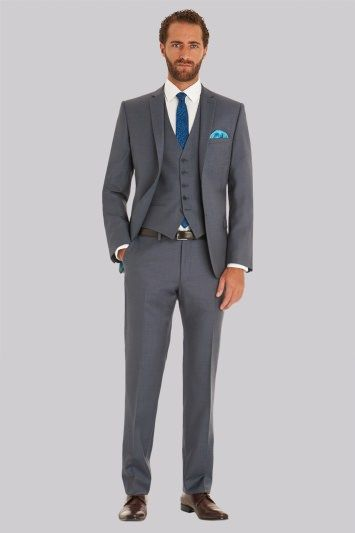 Ted Baker Tailored Fit Steel Grey Jacket