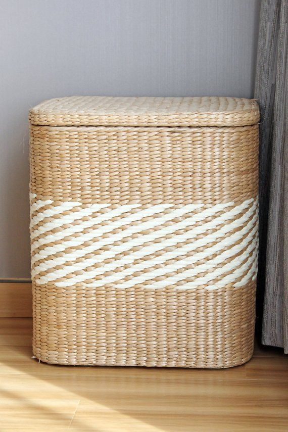 Handwoven Square Storage Baskets Rustic Home Decor Wholesales Etsy Storage Baskets Wholesale Decor Home Decor Baskets