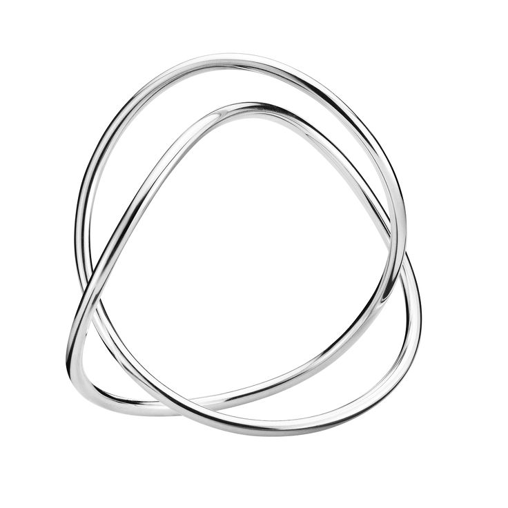 Alliance bangle - sterling silver. Georg Jensen.