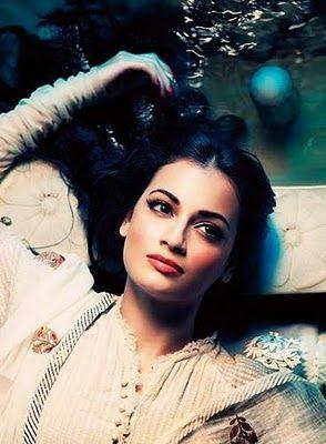 Diya Mirza from Harper Bazaar
