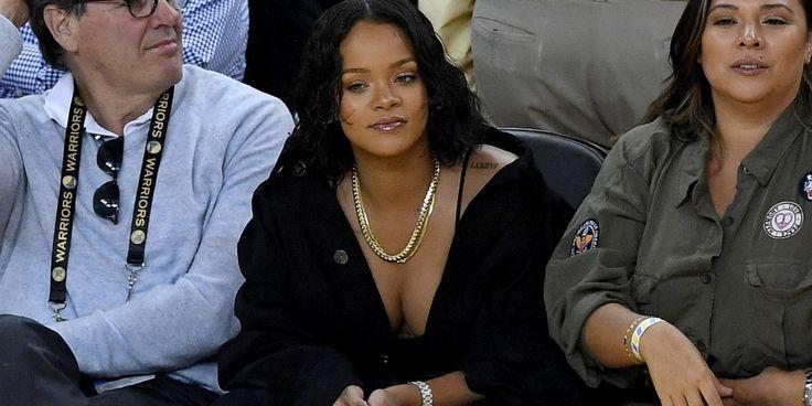 Rihanna Was The Real Winner At Last Night's NBA Finals Game - HarpersBAZAAR.com
