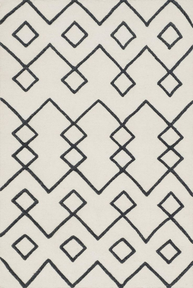 Loloi Rugs - Adler Collection AW-04 IVORY, Hand-woven of 100% wool in India