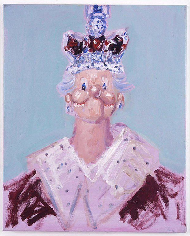 George Condo, Dreams and Nightmares of the Queen (2006). Photo: courtesy the artist, Simon Lee Gallery/Andrea Caratsch/Zurich and Luhring Augustine/Tate Modern.