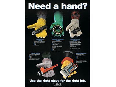 Hand Protection Poster Health And Safety Posters