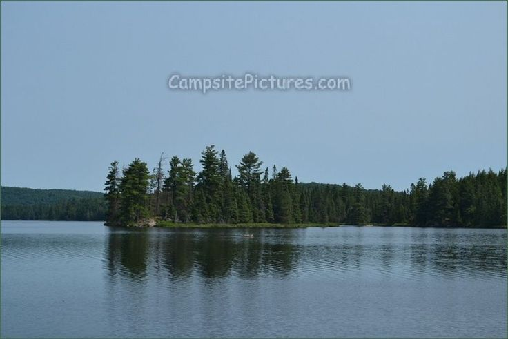 Canisbay Lake Algonquin Provincial Park Ontario Canada