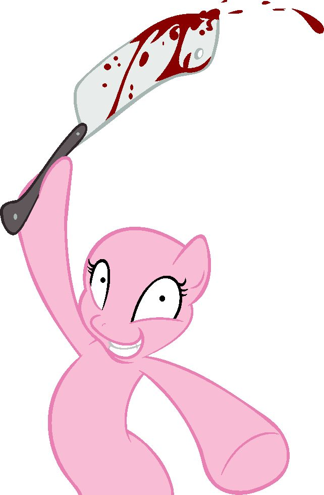 MLP BASE: Knife Party?! by FrozenStrike