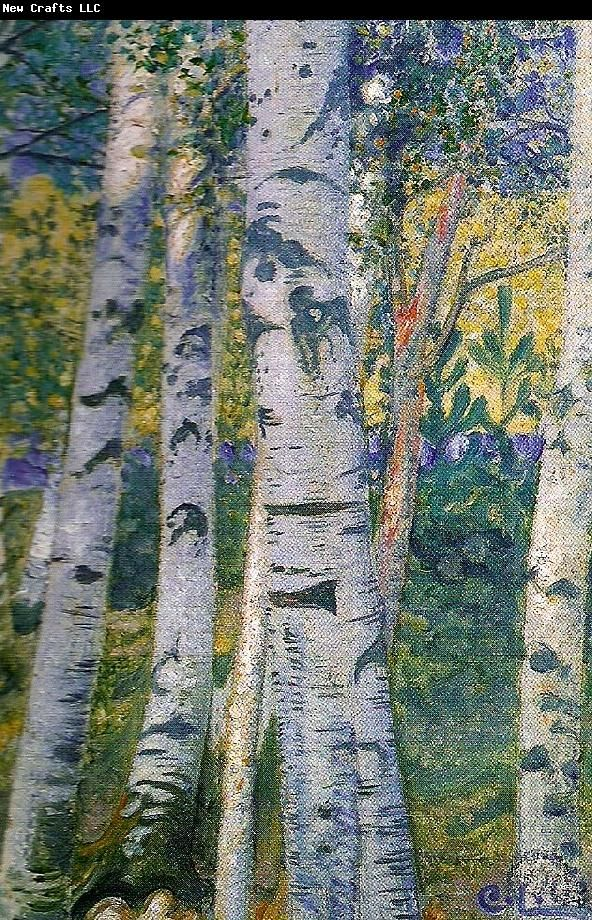 Carl Larsson bjorkstammar
