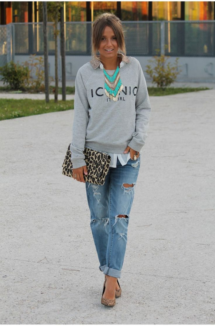 Love this look but minus the purse and necklace.