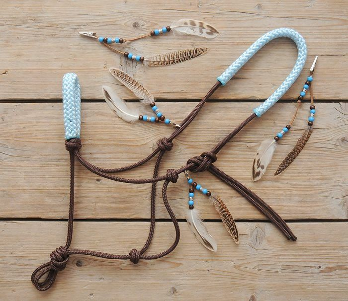 www.pegasebuzz.com | Equestrian Fashion : Horse Beads halter  I love this!!!!!!