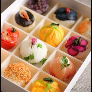 お花見弁当♪10種類のいろいろ手まり寿司 by 山本リコピンさん   レシピブログ - 料理ブログのレシピ満載!  いつも見て下さって本当にありがとうございます!!