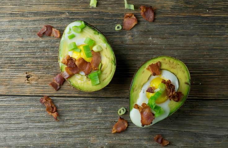 Baked Avocado with Eggs and Bacon - Framed Cooks