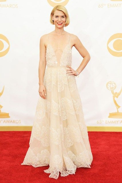The Emmy Awards Claire Danes in Armani Prive