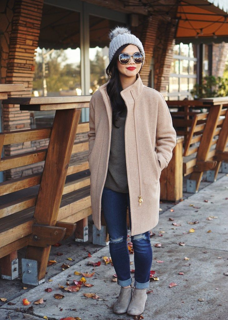 J.Crew Cocoon Coat, just got this coat in grey! Can't wait to wear it this fall/winter.