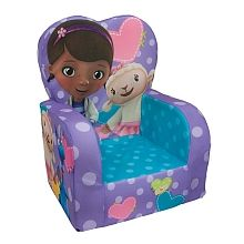 For Molly - Marshmallow Fun Furniture High Back Chair - Doc Mcstuffins