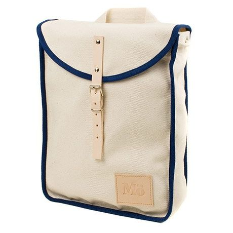 Heap Backpack - Wit / Navy - alt_image_one