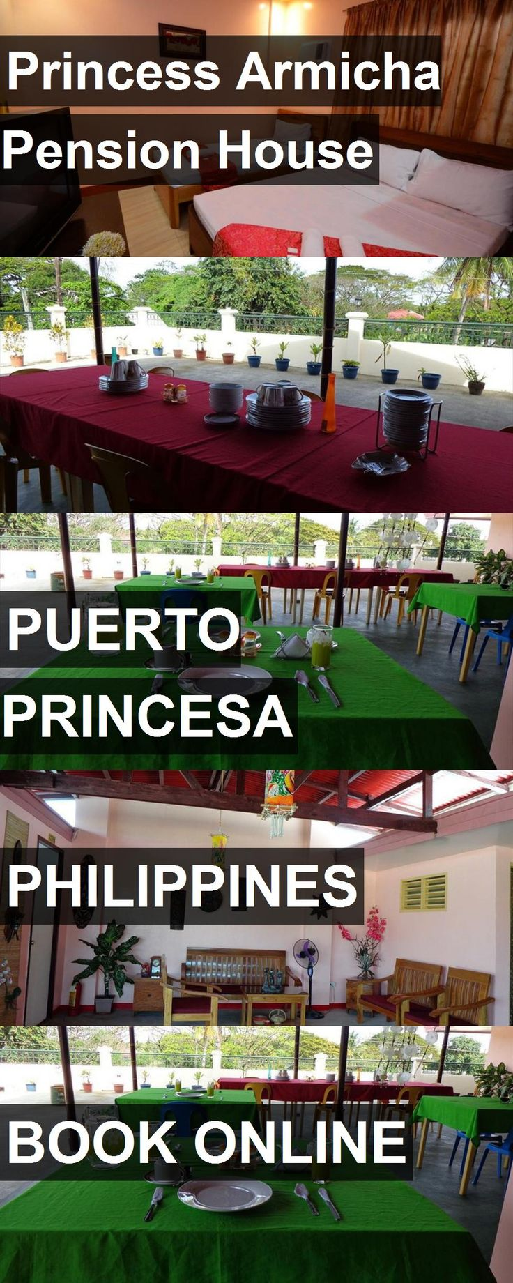 Hotel Princess Armicha Pension House in Puerto Princesa, Philippines. For more information, photos, reviews and best prices please follow the link. #Philippines #PuertoPrincesa #travel #vacation #hotel