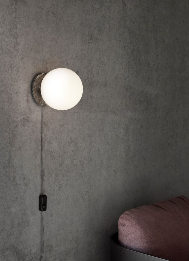MENU | TR Bulb Wall Lamp by Tim Rundle, Shot by Mikkel Rahr Mortensen