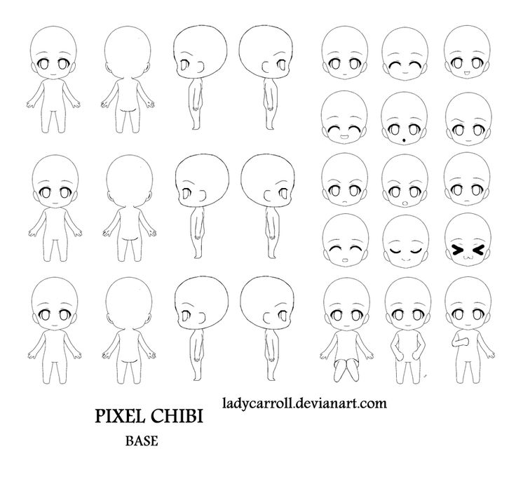 Character Design Tutorial Deviantart : Best chibi character images on pinterest