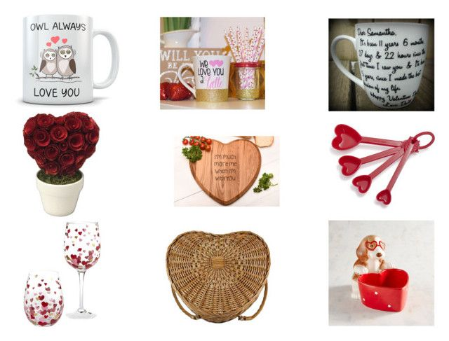 """Valentine's Day Gifts"" by gothicvamperstein on Polyvore featuring interior, interiors, interior design, home, home decor, interior decorating, Sur La Table, Pier 1 Imports and Picnic Time"