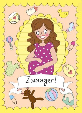 Feliciteer je vriendin, buurvrouw, collega of zus met haar zwangerschap met deze schattige kaart uit de collectie van Anne Sara van Hallmark Cards.  #annesara #hallmark