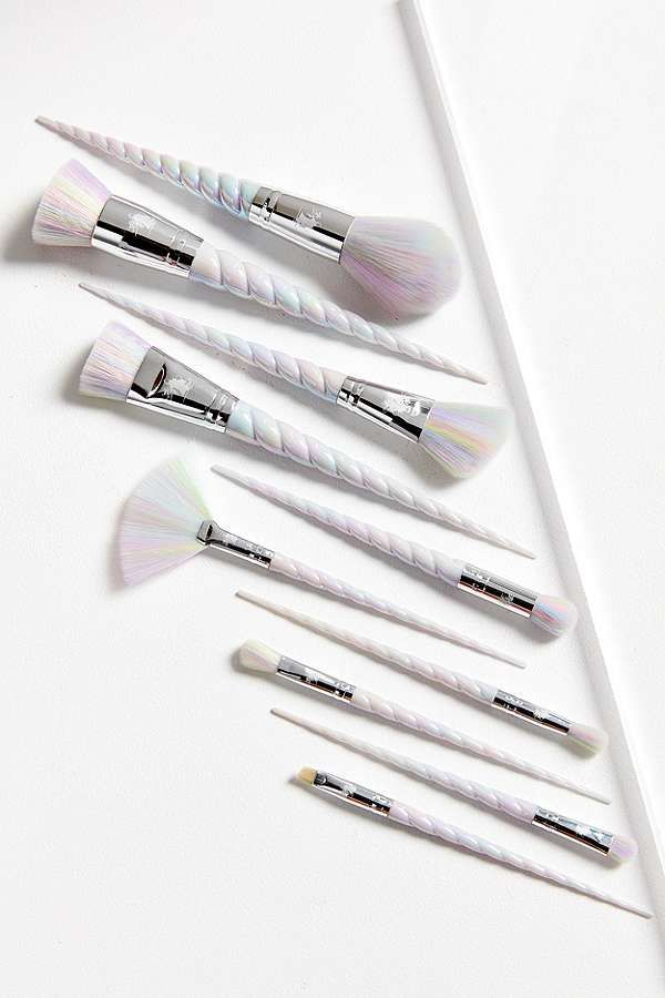 unicorn lashes brushes rose gold. unicorn lashes original brush set brushes rose gold
