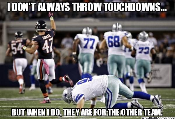 CHICAGO FUNNY PICTURES ABOUT DALLAS COWBOYS | ... , Sports Memes, Funny Memes, Football Memes, NFL Humor, Funny Sports