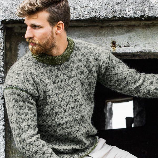 Tradisjonsbærer i tweed & herrenes favoritt... Garnpakke i Alpakka Tweed fra Du Store Alpakka