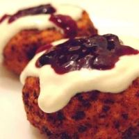Papanasi: Cottage Cheese Dumplings with sour cream and jam.  So delicious!