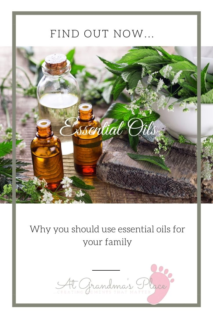 Find out why... you should use essential oils with your family. They are so much more than just a lovely aroma. Check it out atgrandmasplace.com