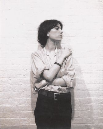 Patti Smith, ca 1973  Robert Mapplethorpe polaroid