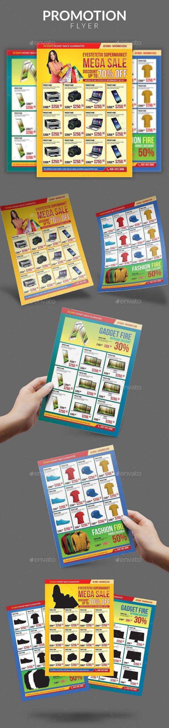 Multipurpose Promotion Sale Flyer Template - Commerce Flyers