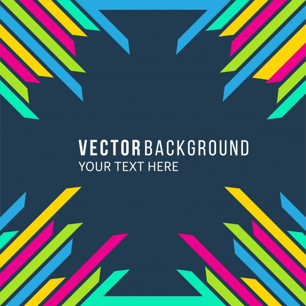 Abstract Background Vector Background Colorfull Background For