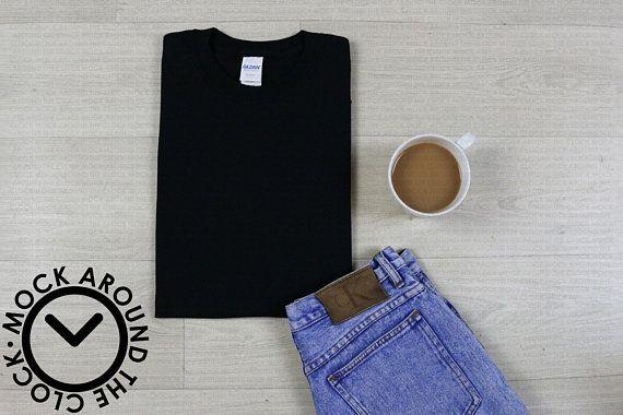 Download Free Black Folded Shirt Mockup Jpeg Gildan Mockup White Tucked Psd Free Psd Mockups Mockup Free Psd Free Psd Mockups Templates Clothing Mockup