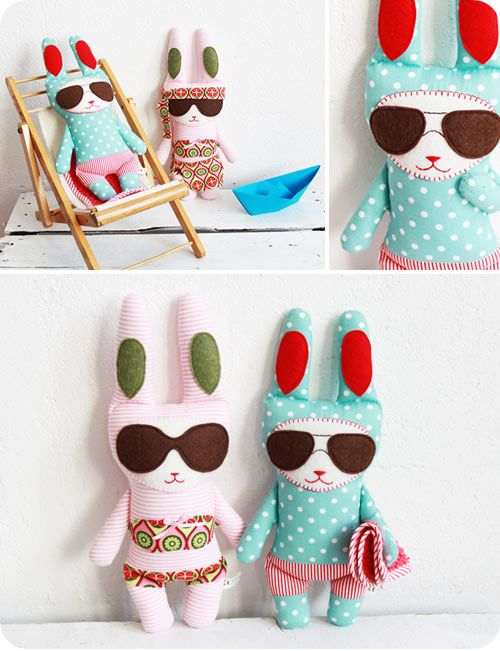 Bunnies in Sunnies Love