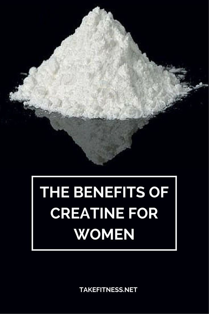 http://takefitness.net/benefits-creatine-women/ The benefits of creatine for women