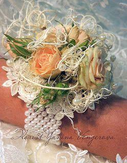 Винтажный браслет для невесты.
