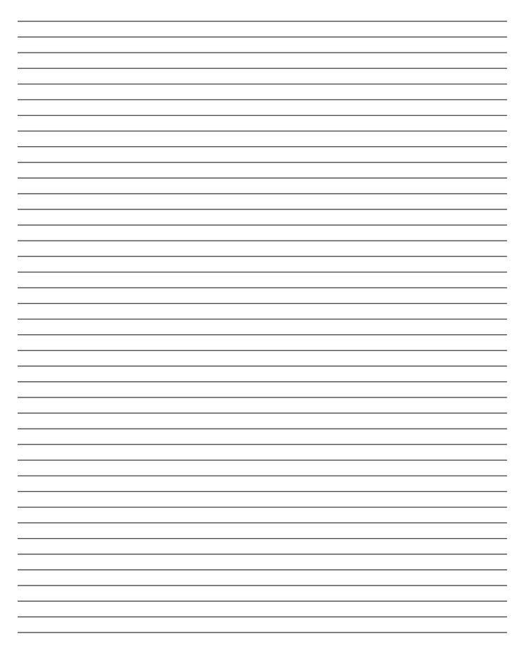 Printable Lined Paper   X   Free Download