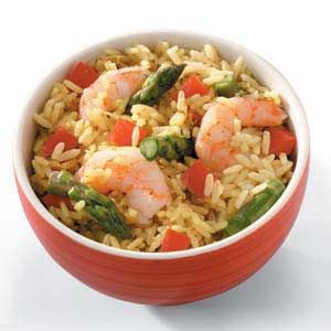 Caribbean Rice 'n' Shrimp Recipe ... A PART OF THE 5 INGREDIENTS OR LESS RECIPES