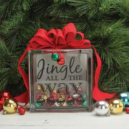 Nicole #0153; Crafts Jingle All The Way Block (AC Moore)