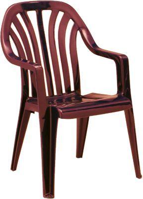 #Unisex #Kunststoff #Gartenstuhl #Lara #stapelbar #bordeaux Der Gartenstuhl ´´Lara´´ mit attraktivem Mattglanzeffekt besteht aus stabilem Kunststoff, welcher wetterfest und UV-beständig ist. Dadurch kann der Stuhl auch über längere Zeit im Freien bleiben, ohne wetterbedingten Schaden zu nehmen. Wenn der Stuhl gerade mal nicht gebraucht wird, dann lässt er sich mit anderen seiner Art stapeln. Somit handelt es sich um einen sehr platzsparenden Artikel. - attraktiver Mattglanzeffekt…