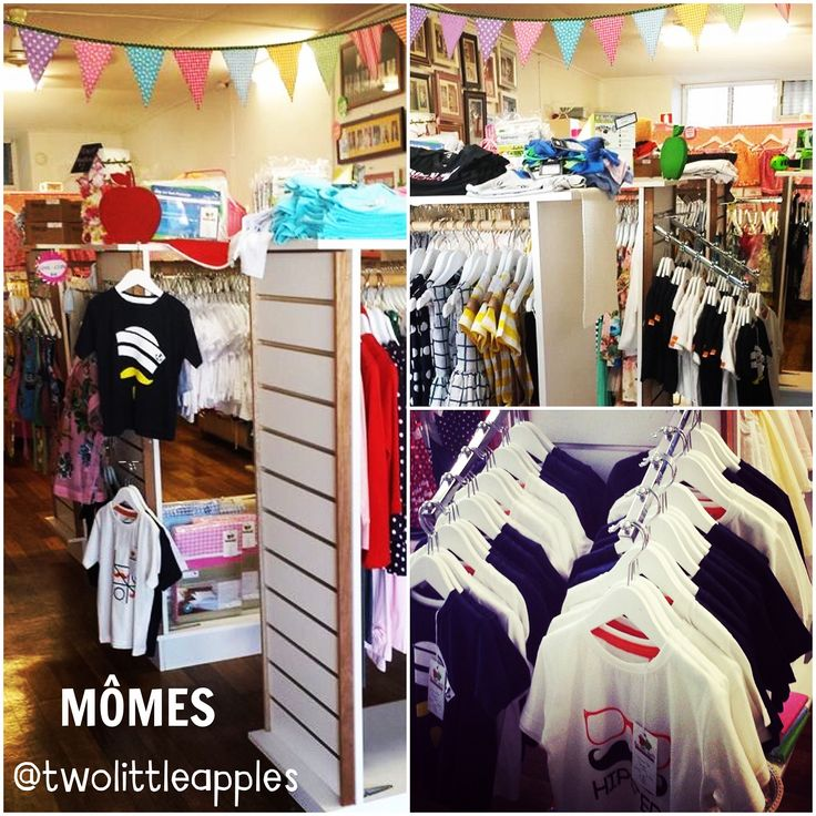 SHOP | We spy #MÔMES @twolittleapples  Love the shop and the new shelves!! Everything look so pretty!! If you are in #Townsville #QLD you should go and check them out before you miss out!! You can find them at Shop 1/49 French St, Pimlico ✔️ #stockist#shop#boutique#childrensclothes#organic#tees#tshirts#boys#boysstyle#kids#kidsstyle#fashion#australian#designer#sydney#french#hipster#hipsterkids#kidsfashion#handcrafted#funky#momes#moustache#streetfashion#organicbaby#quirky
