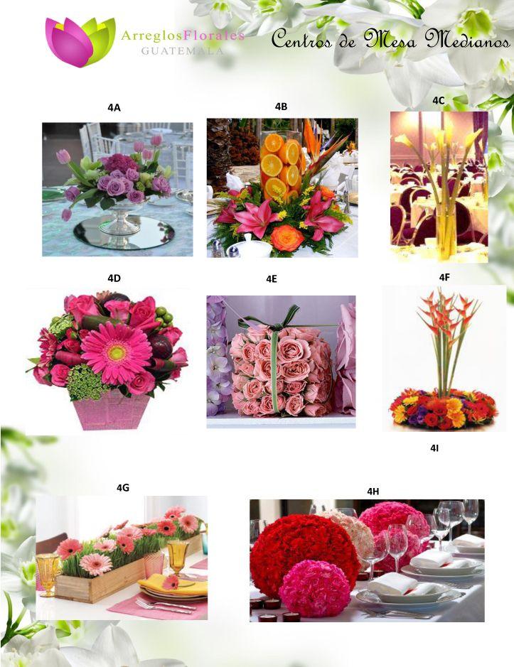 Catalogo de Bodas Arreglos Florales Guatemala